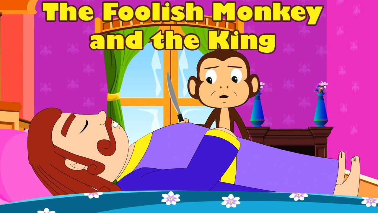 The King and the Foolish Monkey Panchatantra